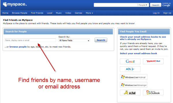 free friend finding websites